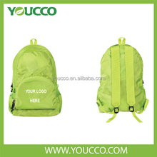 2015 colorful waterproof sports foldable nylon backpack bag manufacturers