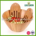alta qualidade durável saladeira de madeira