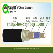 #6 Thin Wall R134a Air Conditioning rubber hoses