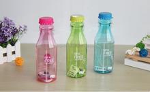 650ml BPA Free Portable Sports Travel Unbreakable Plastic Water Drink Bottle