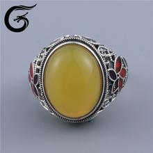 GuoLong wholesale 925 jewelry platinum rings silver zircon ring