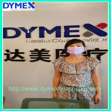 Pink/Blue/Green/White Disposable Nonwoven Surgical Isolation Face Mask