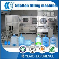 Automatic 20 liter bottled water filling machine cost