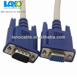 2015 wholesale three color-coded rca to vga adapter