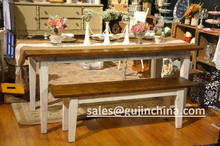 french country farmhouse living dining room table factory wholesale