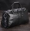 New Trendy Men Cowhide Leather Duffle Travel Bag