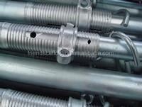 Scaffolding steel props jack