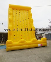 inflatable climbing wall/giant inflatable games