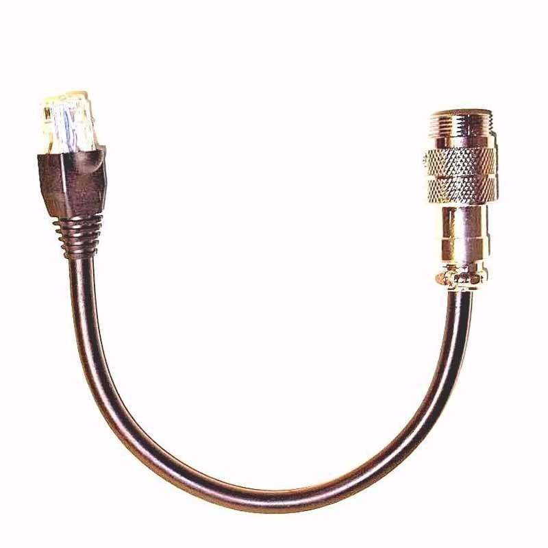 4-Pin ASTATIC MICROPHONE to 8-Pin RJ45 Modular YAESU Adapter HS-48SF