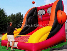 basketball shooting games inflatables,factory price inflatable sport games for adults