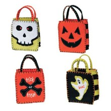 Factory best selling christmas halloween felt bag