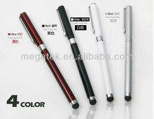 2 in 1 stylus touch pen for iphone/ipad android tablet pc