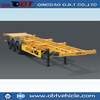 OBT Low Price 3 Axles 40 ft Skeleton Trailer Container Chassis