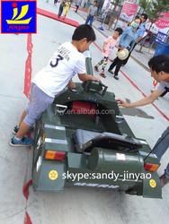 intresting children tank car, kids snow chariot, mini tank car for kids