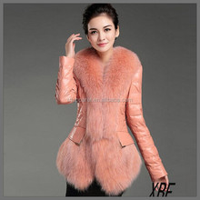 XBF022 Unique Design Widely Used Reasonable Price Heavy Leather Coat