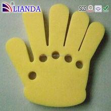 Customized die cut cheer finger hand foam,oem foam hand,foam cheering hand stick
