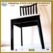 cheap EH-1002 birth pine to paint restaurant talbles and chairs furniture