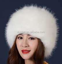 Factory wholesale 2015 new fashion winter russia faux animal fur beanie hat