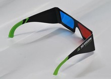 2015 New Custom Cool Red Blue Paper Anaglyph 3D Glasses