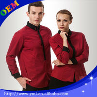 hot sell hotel uniform for receptionist