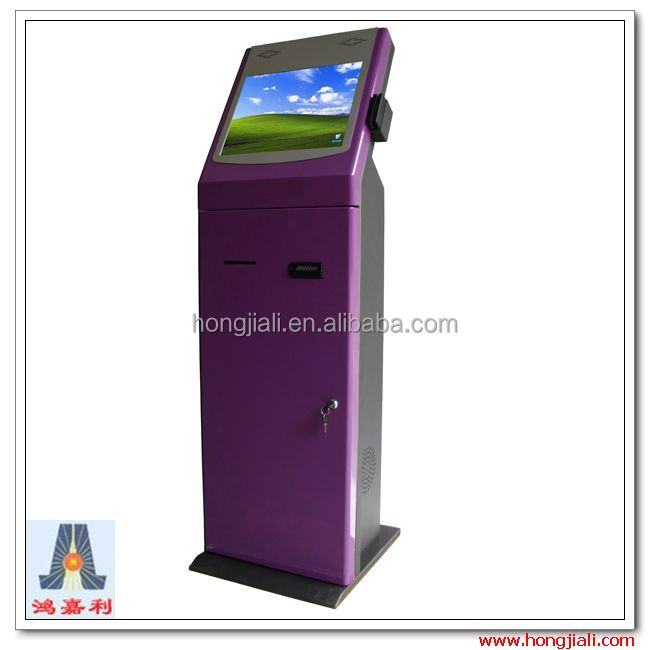 All-in-one cash Payment Kiosk Machine/Bill Payment Kiosk/Card Reader Self Payment Kiosk Terminal HJL-3516