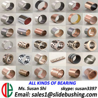 bimetallic bushings Metal Sleeve Bushing/JF Bushing Oil Sintered Bush Babbitt B83 DU0506 FB08G bushing