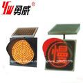 400mm de seguridad vial del panel solar de tráfico de la luz