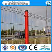 Pvc Coated 1x1 Wire Mesh Fencing (direct Manufacture In China)