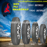 11R 22.5 commercial tires with Product Liability Insurance to America&Canada markets
