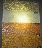 Sound absorbing interior 3d wall decorative mdf panel