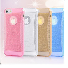 high quality soft tpu bling back mobile phone cases for Samsung galaxy S4