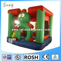 lovely inflatable animal mini bouncer castle for jumping