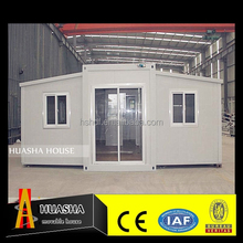 Low cost easy assemble prefab house living quarters for staff and workers