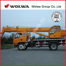 Wolwa 10 ton hydraulic mobile crane GNQY698