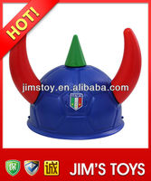 Fun toys fashion helmet with horns football hat