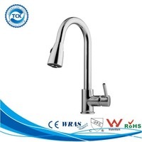 Precisely capacity touch upc push down sensor kitchen faucets tap