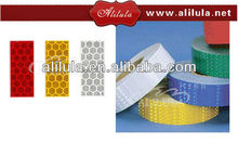 Hot selling reflective tape motorcycle&truck red-white reflective tape for motorcycle/trailer reflective stripe