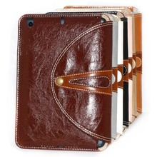 luxury leather case for ipad air, for ipad air pu case for ipad air