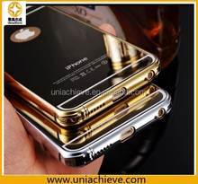 For iphone 6/iPhone 6 plus Case, metal frame case for iPhone 6/iPhone 6 plus aluminium case protecting cover