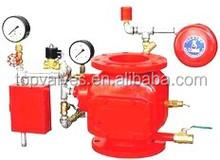 Deluge alarm valve , deluge alarm system