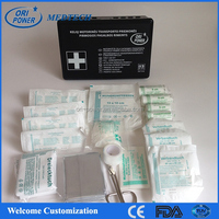 OP promotion FDA CE ISO approved wholesale manufacture price motorcycle auto first aid kit for car