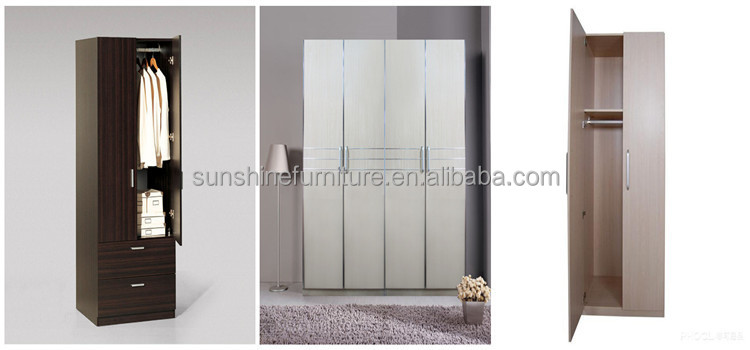 Cheap modern wooden almirah designs in bedroom wall buy for Cheap designer furniture singapore