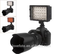 Fotos cámara de vídeo zapata llevó la lámpara de iluminación para videocámara de la boda