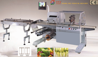 Professional automatic 5 bags instant noodles packing machine with CE certification