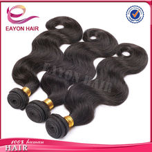Eayon human unprocessed body wave hair extension 70 300g excellent