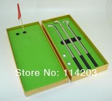Classic Metal Promotional 3pcs Golf ball pen Office Golf Set