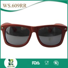 Wholesale china import fake wood sunglasses wayfarer style sunglasses