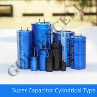 2.7V 1F Cylindrical Super Capacitor for ESR Meter, Car Audio, Car Temperature Meter and etc