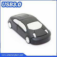 Plastic car shaped customized flash drive usb mini pormo usb pen drivers usb 64gb 3.0