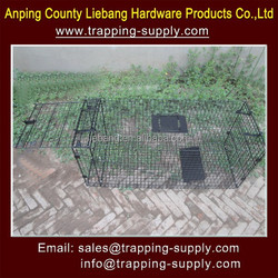 Steel Large Animal Traps Cage Urban Fox Trap Cage Live Catch